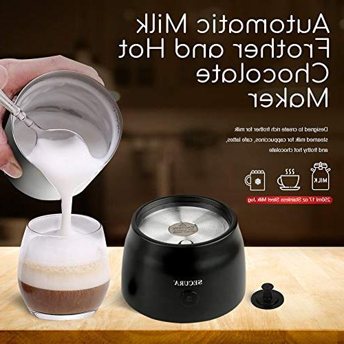Secura Milk Chocolate Maker 250ml 8.45 oz Stainless Jug