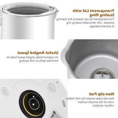 Electric Automatic Warmer & Heater Foam Maker