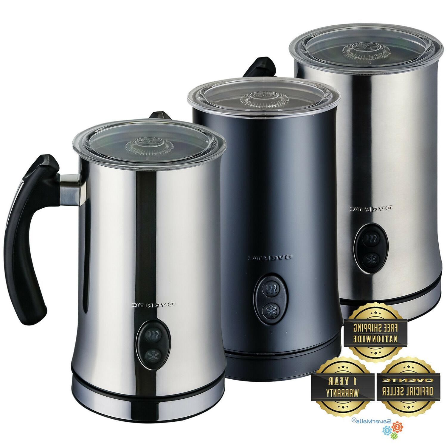 electric milk frother double wall frothing