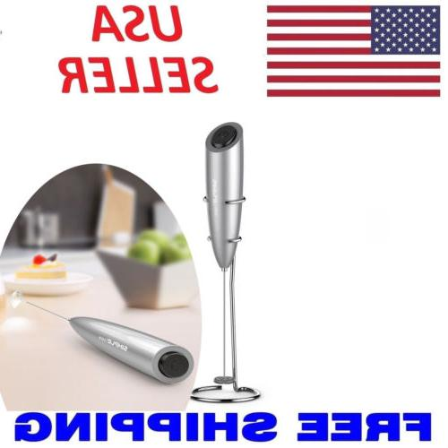 Electric Foamer Kitchen Whisk Stirrer Coffee Eggbeater