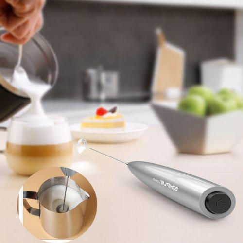 Electric Frother Foamer Stirrer Coffee