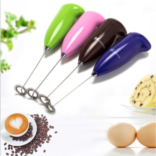 electric milk frother drink foamer whisk mixer