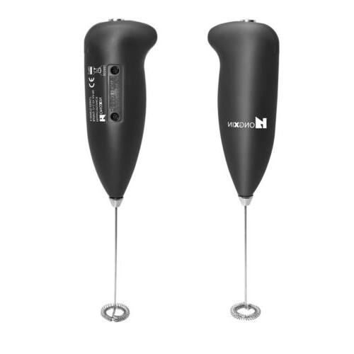 Electric Frother Foamer Coffee Eggbeater Latte