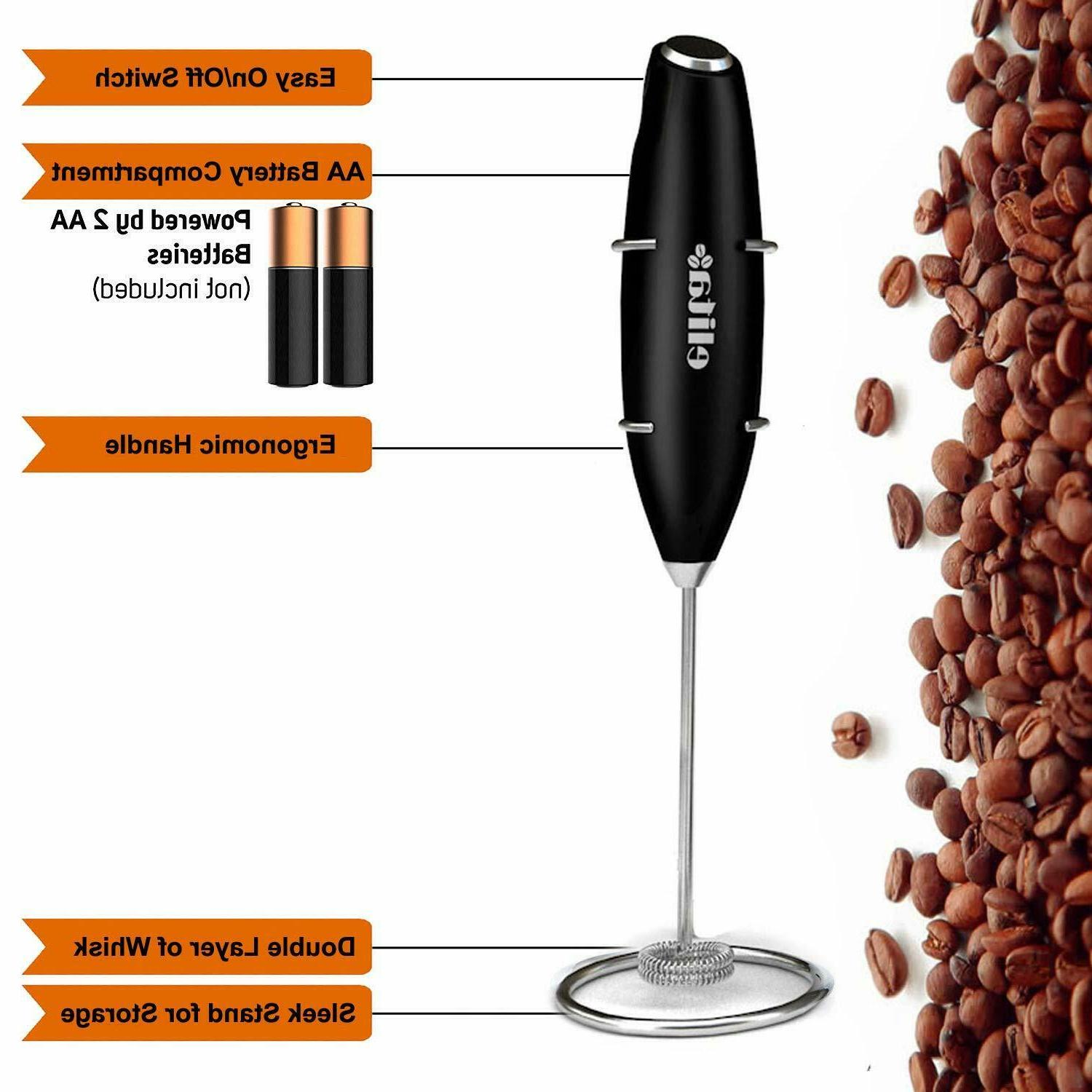 Electric Frother Maker Whisk with Battery