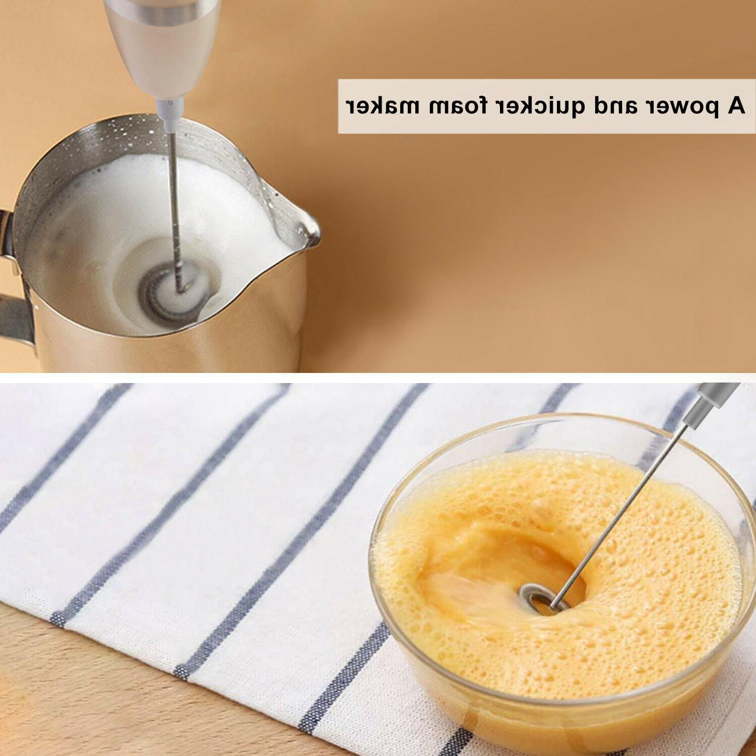 Electric Double Whisk Coffee Egg