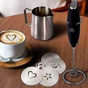 Electric Frother Handheld Mini Foam Drink by