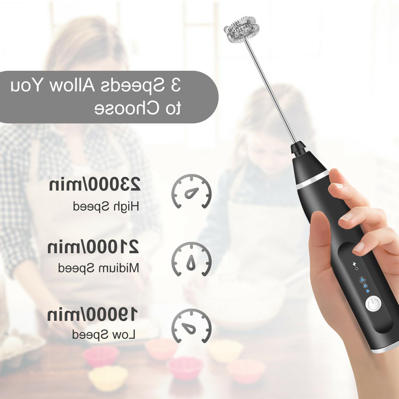 Electric Mixer Stirrer Egg Beater USB Powered