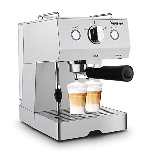 Barsetto Espresso Machine With Milk Frother,Espresso Maker, Coffee Maker with Bar