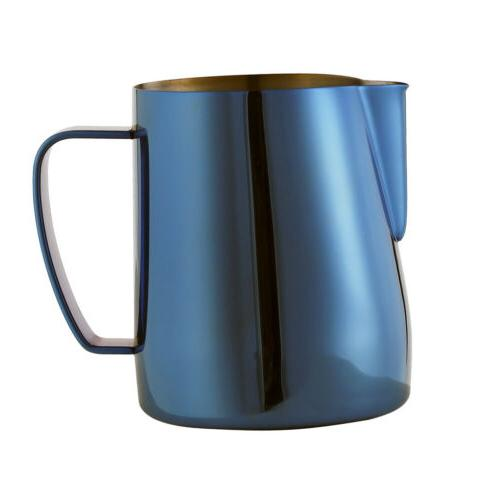 Espresso Coffee Milk Frothing Steaming Pitcher Frother Jugs