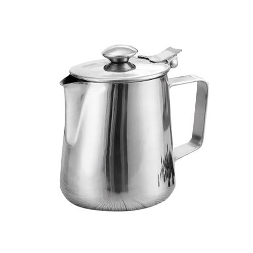 espresso coffee milk frothing steaming pitcher frother