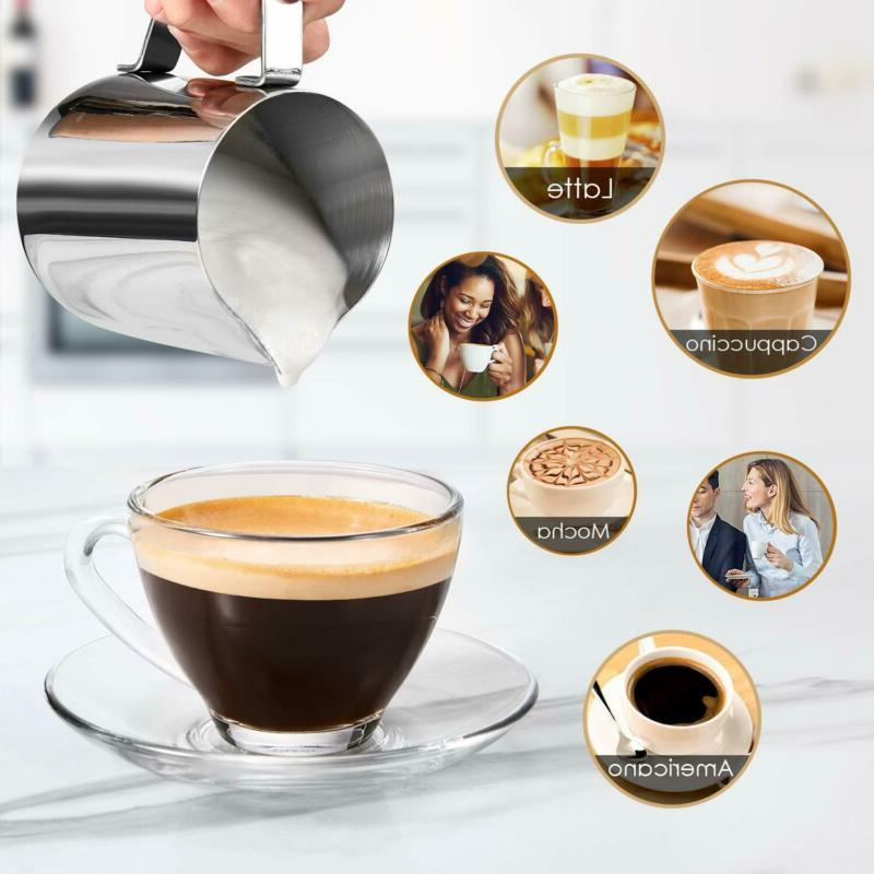 Espresso Coffee Maker Cappuccino With Frother