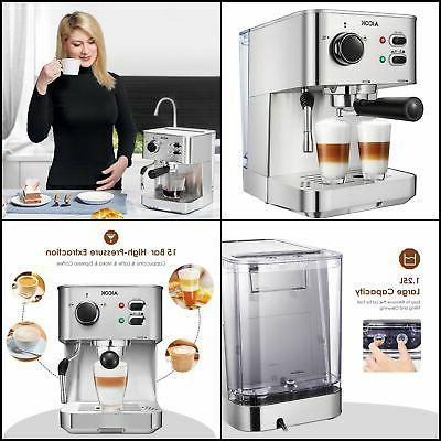 espresso machine cappuccino maker latte coffee maker