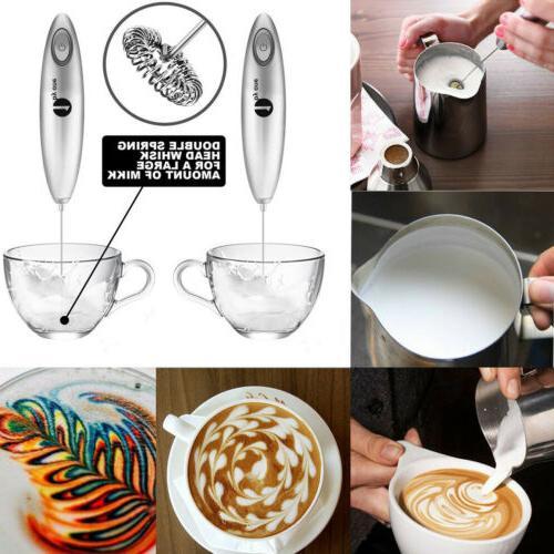 Foam Electric Whip Milk For Latte Coffe
