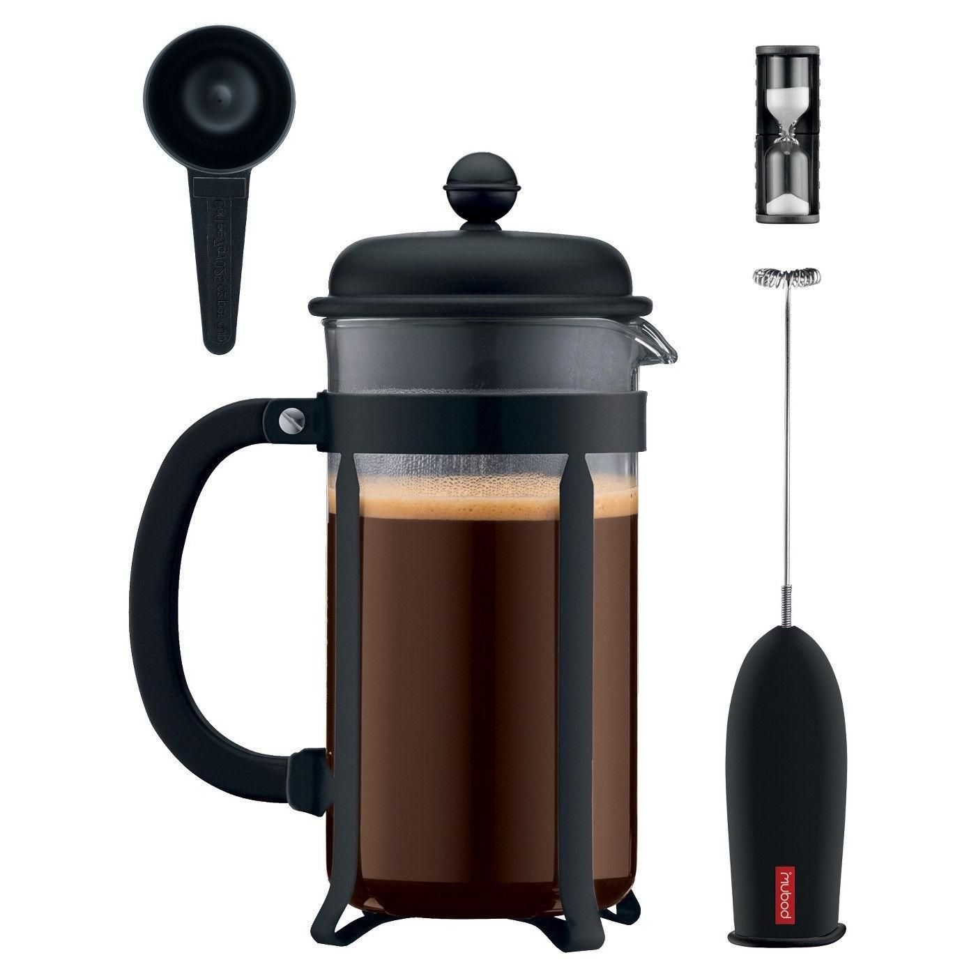 french press coffee maker java 4 pc