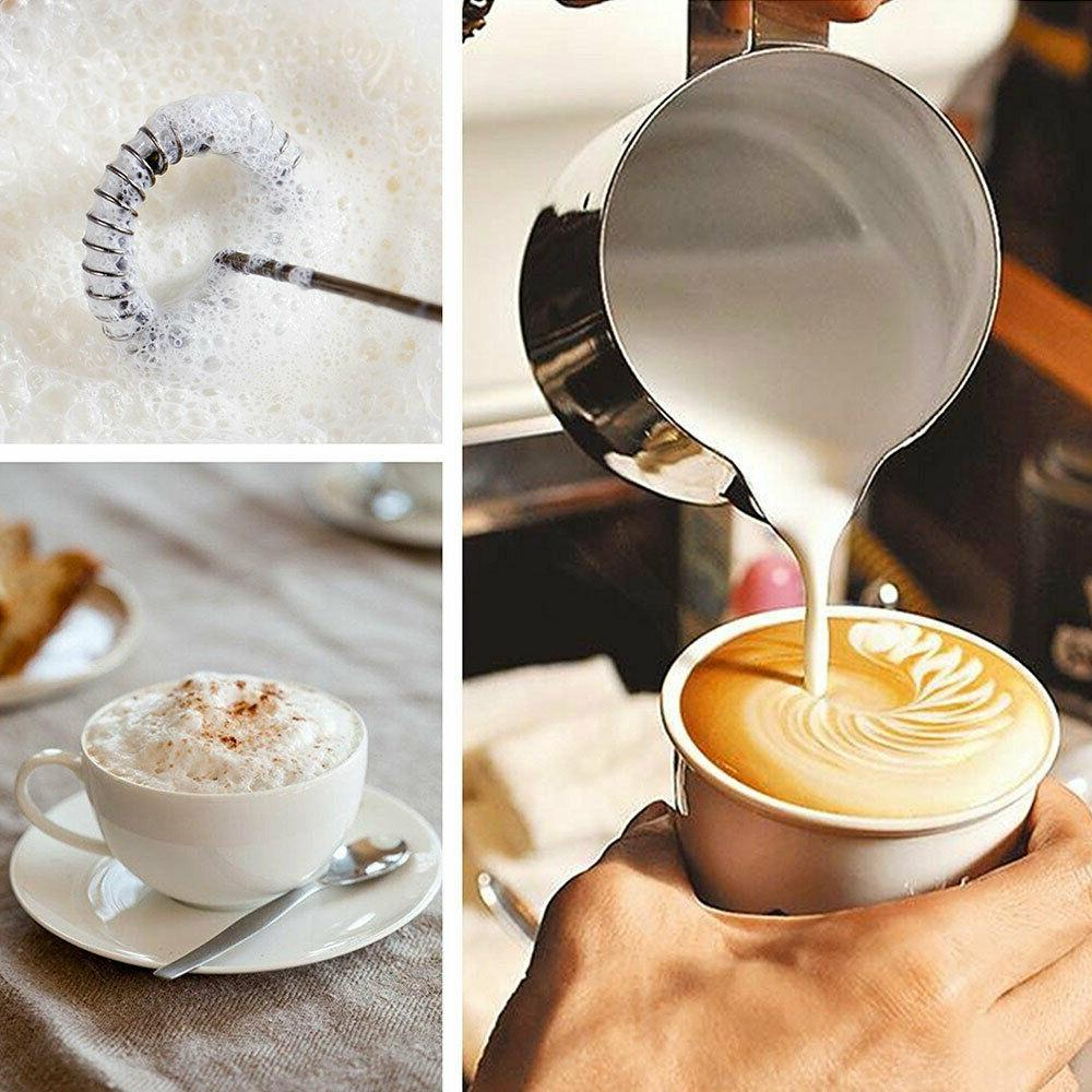 Frother Drink Foamer Egg Beater Whisk Latte
