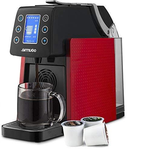Gourmia Touch Multi Coffee & Espresso Single Serve Compatible with K-Cup Pods - Digital Display