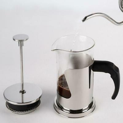 Hand Pressure Coffee Pot Steel Hand Brewing Milk Frother