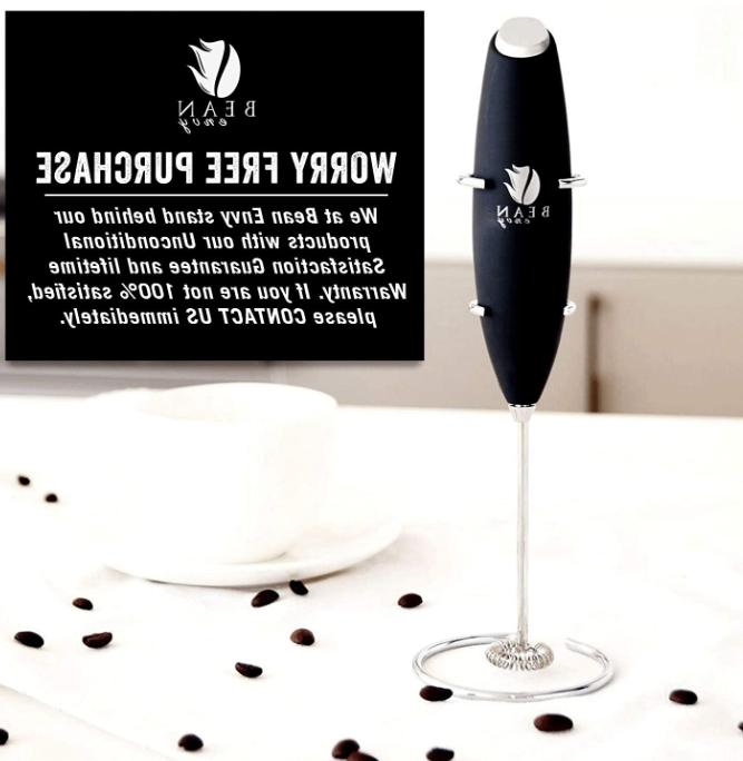 Handheld Frother Coffee Whip Whisk Drink Mixer