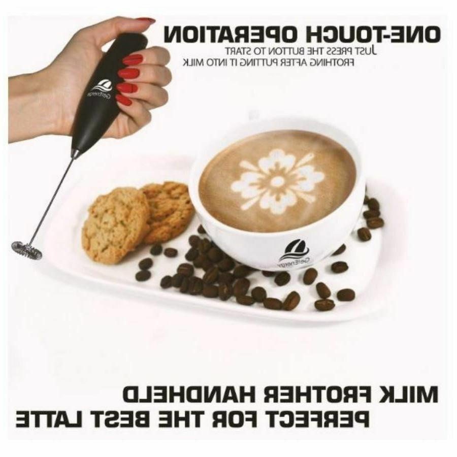 Handheld Milk Coffee Whisk Drink Mixer