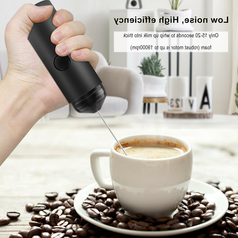 Handheld Milk Stirrer Eggbeater Drink Foamer Mixer