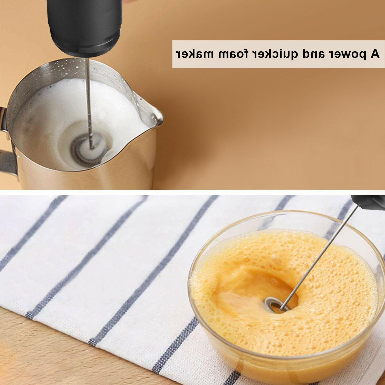 Handheld Coffee Milk Frother Foamer Tool