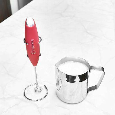 Handheld Milk Cappuccinos &