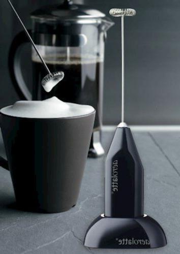 Aerolatte Handheld Milk Frother with Stand,