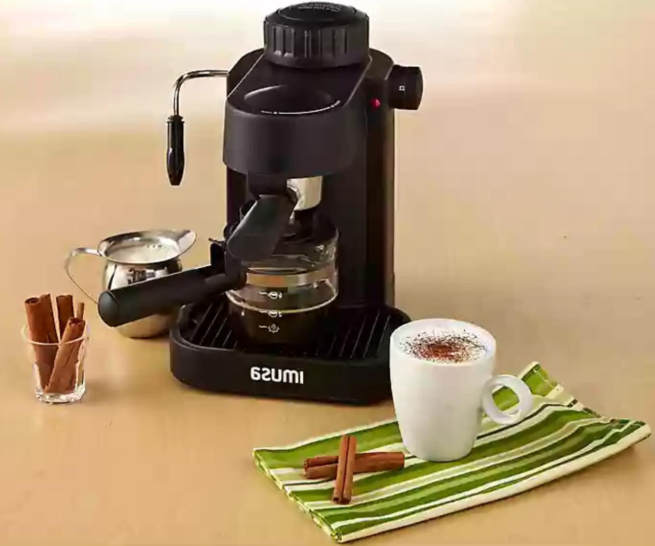 HOME ESPRESSO W/ Cup Maker
