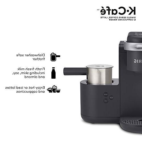 Keurig K-Cafe Serve Latte Cappuccino Maker, and Espresso K-Cup 24