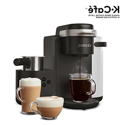 Keurig K-Cafe Single-Serve Coffee Maker, Latte and Cappuccino Comes with Frother, Capability, Compatible With Keurig K-Cup Pods,
