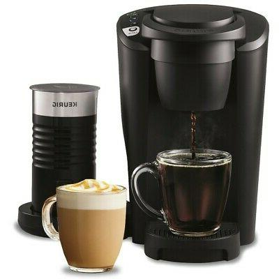 k latte coffee maker with milk frother