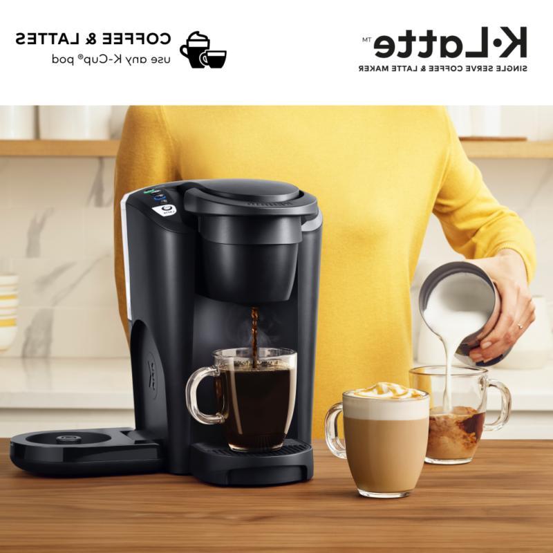 keurig k latte coffee maker with milk