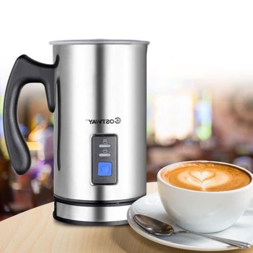 kitchen electric automatic milk frother for hot
