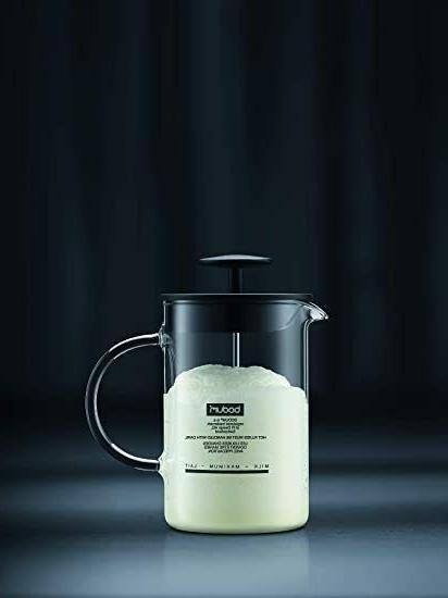 Latteo Milk 8 Ounce, Black