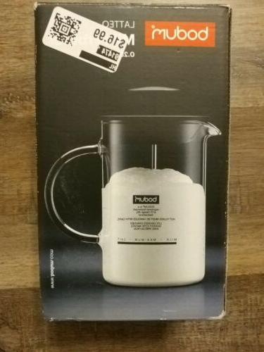 latteo milk frother 8 ounce new