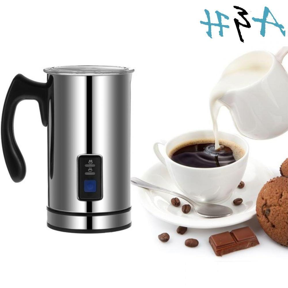 maker 220v coffe frother steel milk coffee