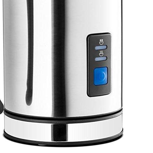Chef's Star Automatic and Cappuccino Maker New Foam Density Feature