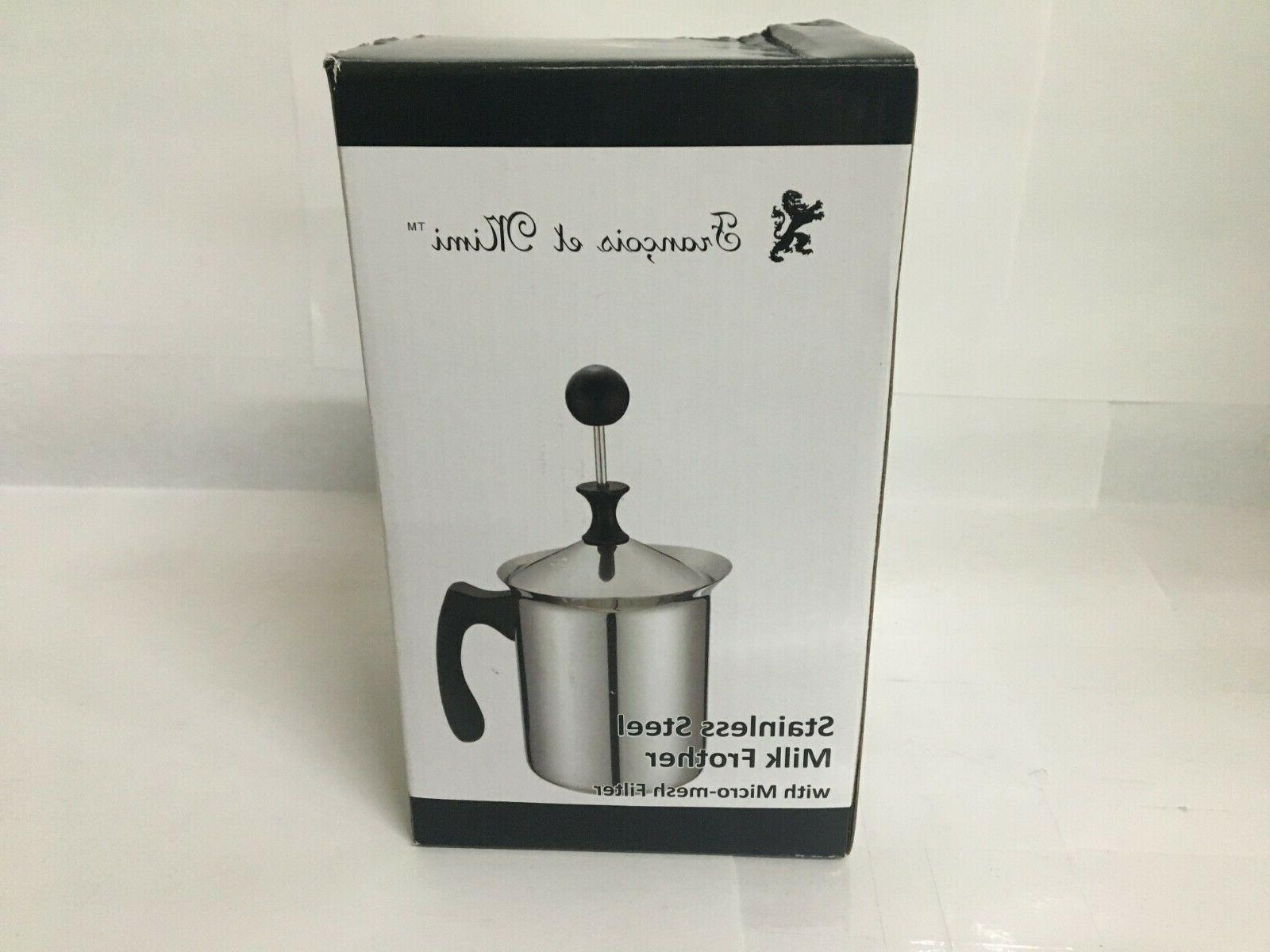 milk and creamer frother coffee foam pitcher