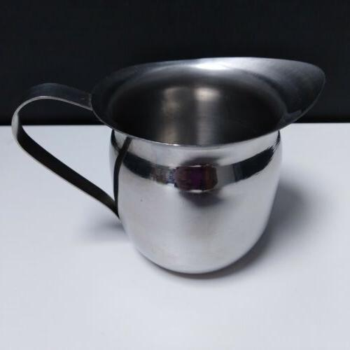Milk Cup Frothing Steam Stainless Espresso Latte
