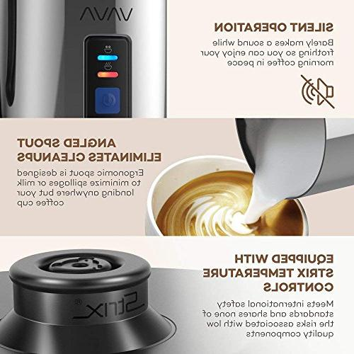 Milk Frother, VAVA Electric Liquid or Stainless Steamer
