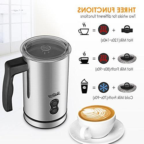 Milk Electric, Milk Coffee Foam Maker with Non-stick