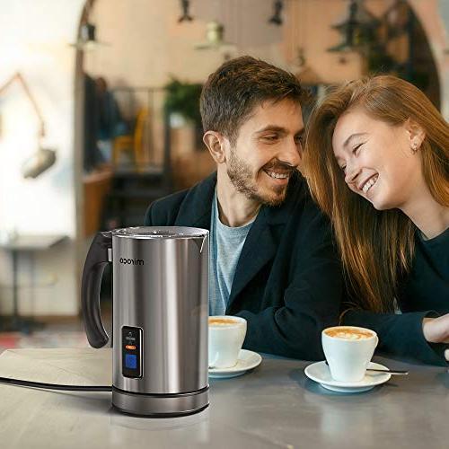 Milk Miroco Milk Steel, Automatic Hot Milk Heat Froth Chocolates, Control