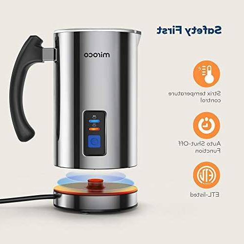 Milk Milk Steel, Automatic and Cold Milk Heat Latte, Coffee, Hot Chocolates, with Strix Control