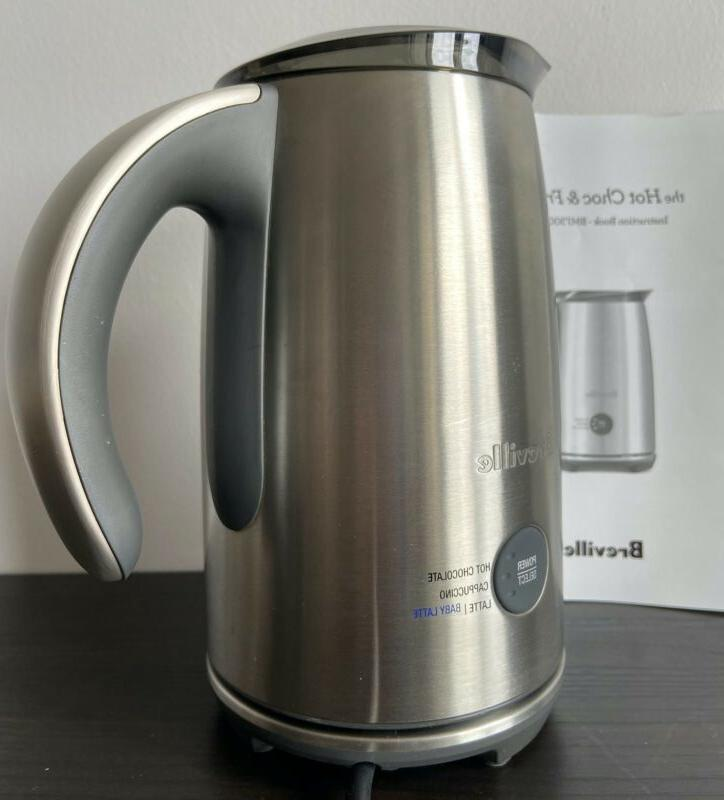 Breville Milk Frother and Hot Chocolate BMF300BSS