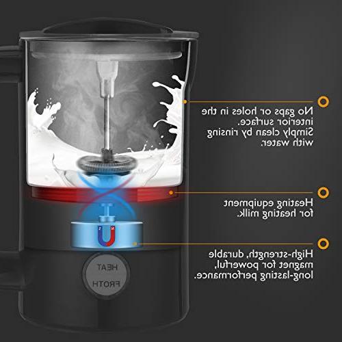 Milk Automatic Hot Coffee Foam Cappuccinos/Lattes/Hot Chocolate/Matcha