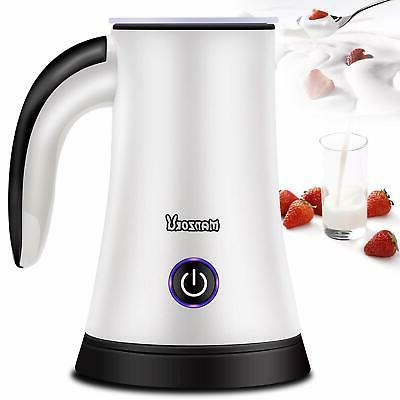 milk frother electric automatic milk steamer machine