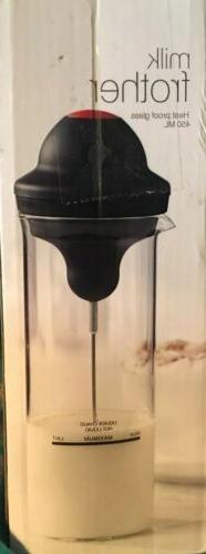 Milk frother electric foamer coffee milk shake mixer battery
