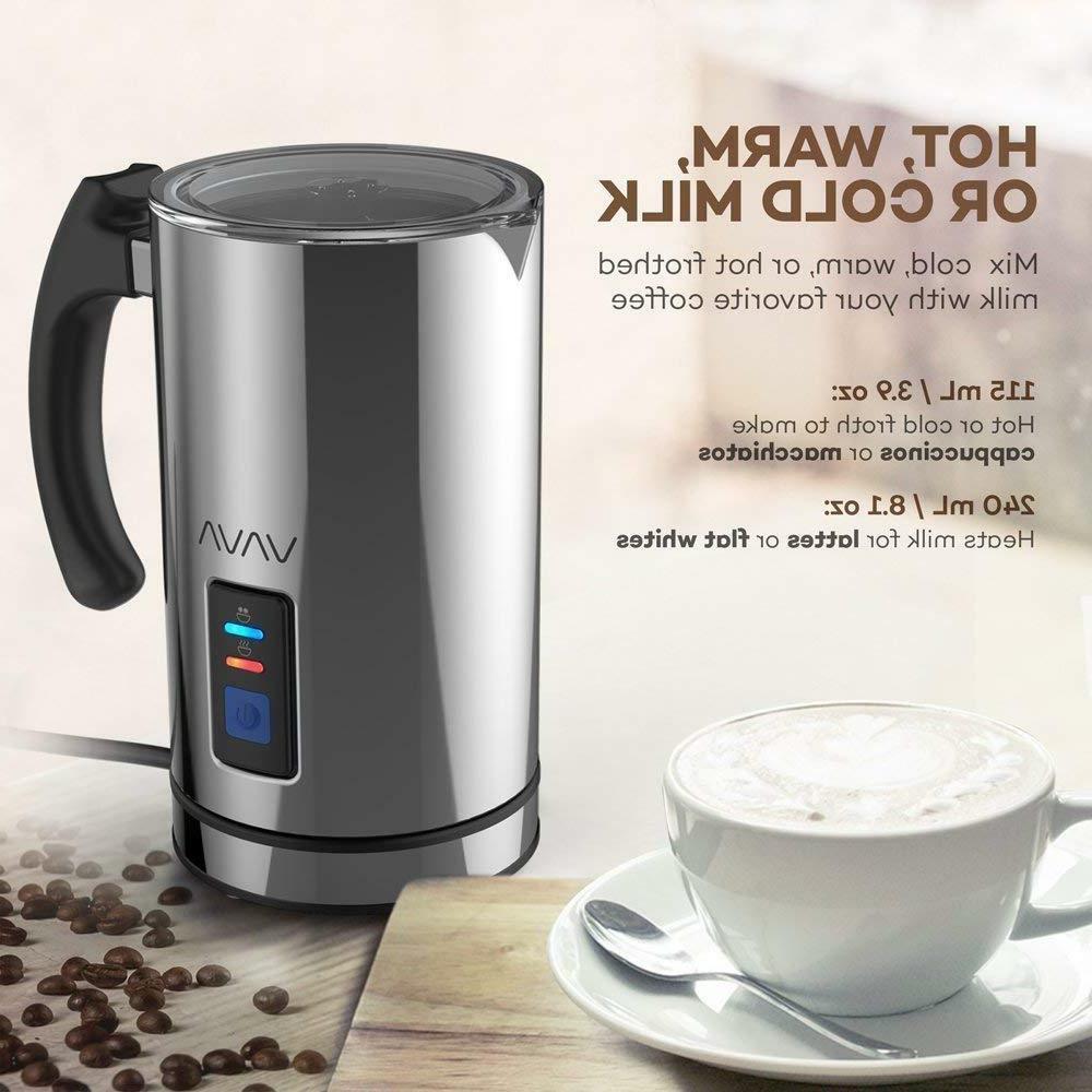 VAVA Milk Frother, Liquid Heater Hot FunctiON