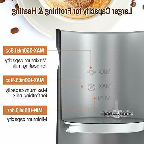 Milk Steamer and 3 in 1 Automatic 2