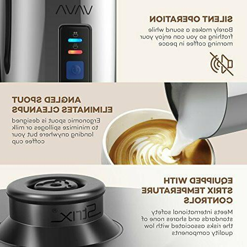 Milk Frother, Steamer Heater Hot or